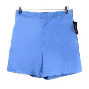NWT Ralph Lauren Polo Golf High Waist Blue Shorts